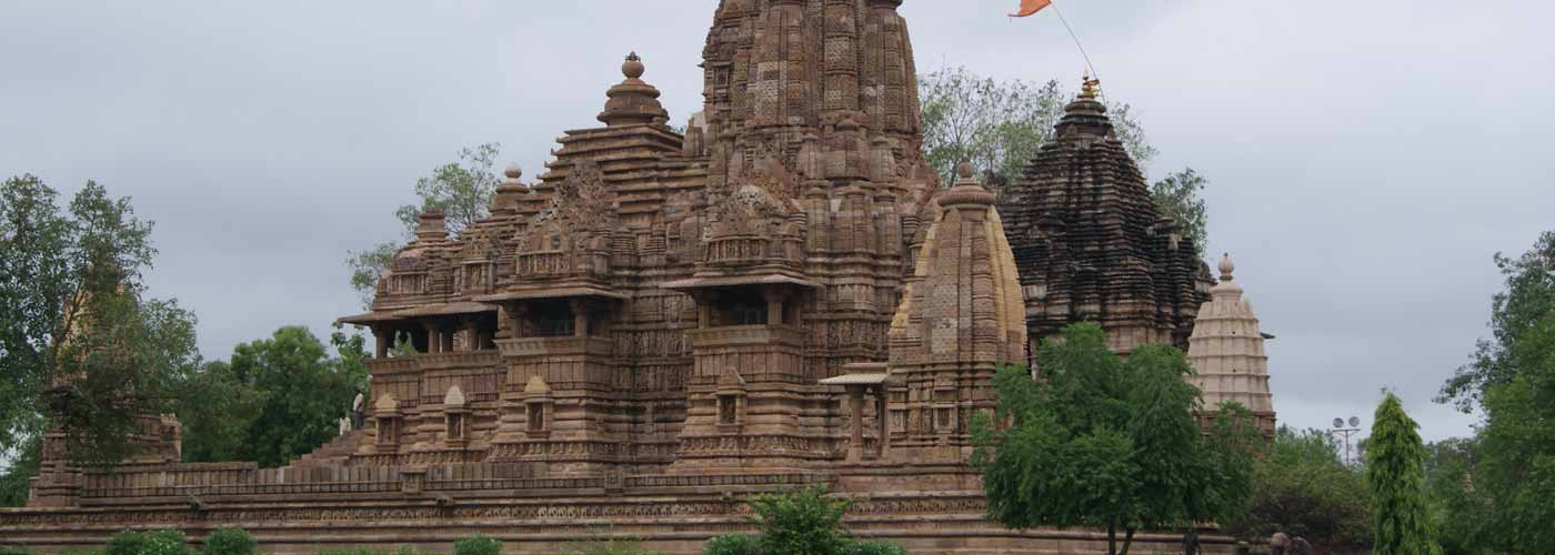 Brahma and Hanuman Temple in khajuraho