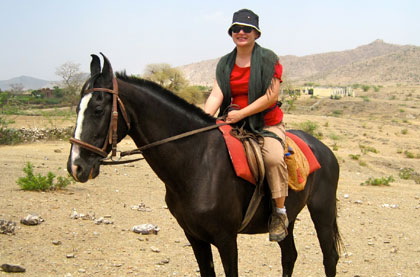 Horse Riding Pushkar
