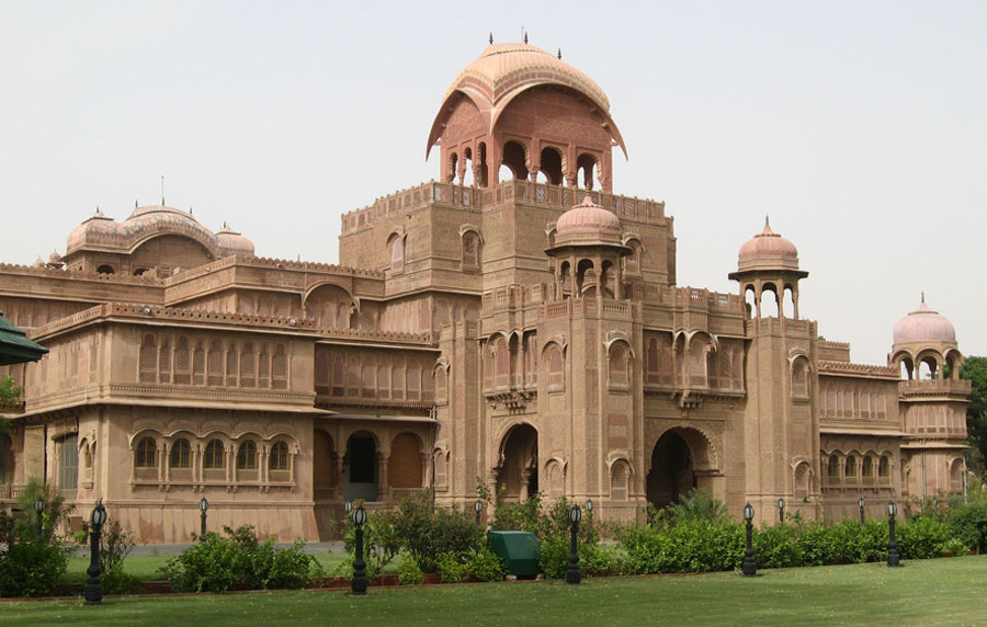 The Lallgarh Palace Bikaner