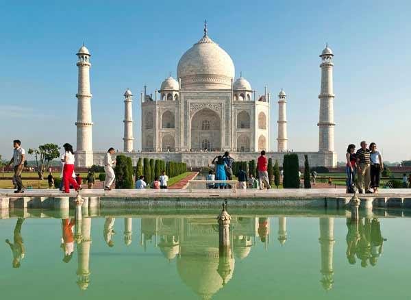 Taj mahal india tours