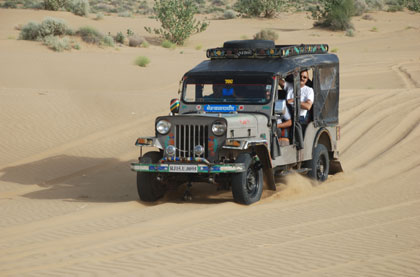 Village jeep Safari jodhpur