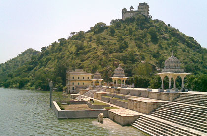 Jaisamand Lake in Udaipur