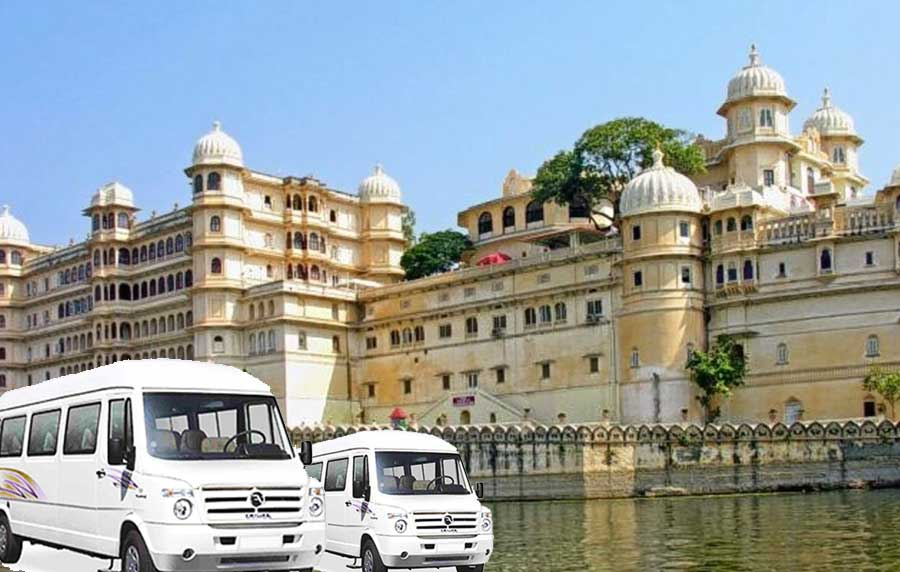 Tempo Traveller Rental Udaipur