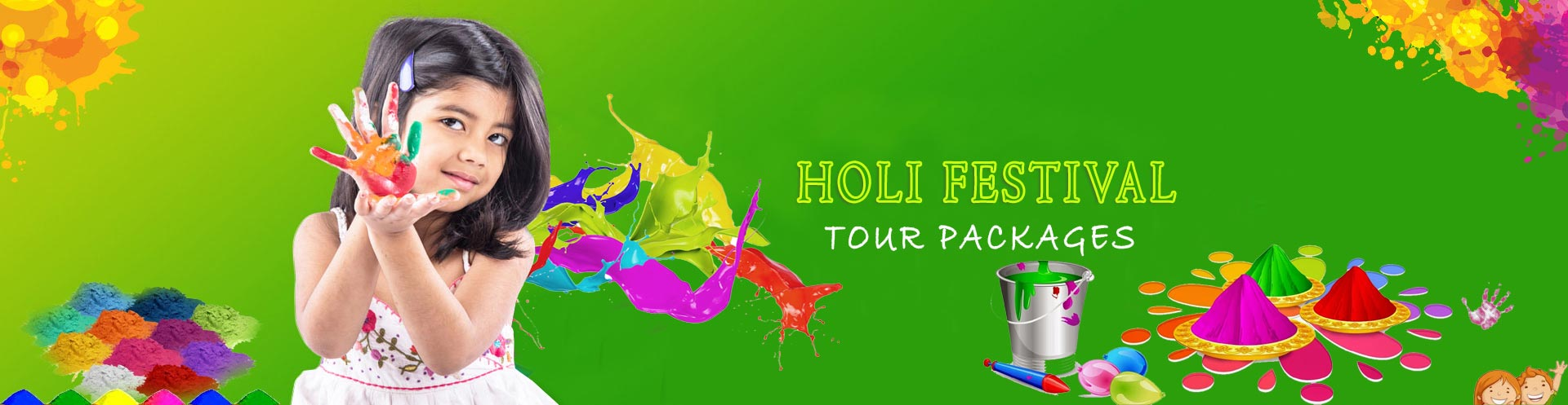 Holi Festival Tour Packages